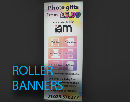 indoor roller banner systems